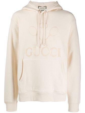 Gucci Tennis Hooded Sweatshirt