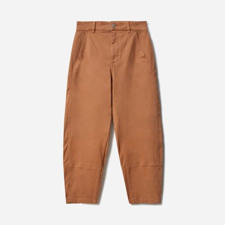 Women's Utility Barrel Pant | Everlane  brown