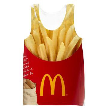 McDonalds French Fries Sweatshirt - Funny Clothes – Hoodie Now