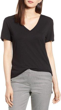 V-Neck Tunic T-Shirt