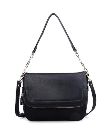 Maisy Faux Leather Crossbody Handbag – VICI