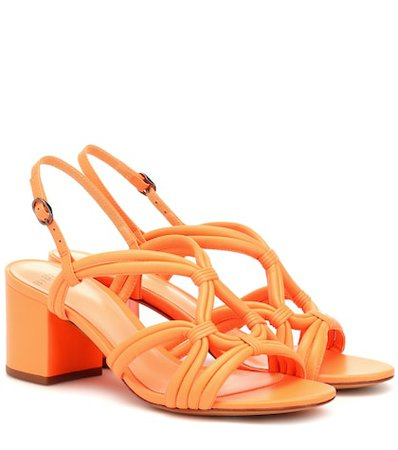 Giovanna 80 leather sandals
