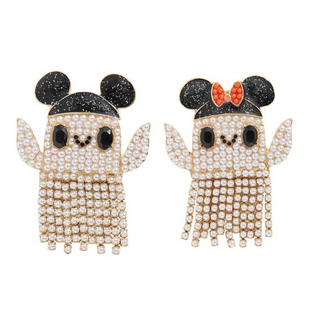 Mickey and Minnie Mouse Ghost Earrings by BaubleBar | shopDisney
