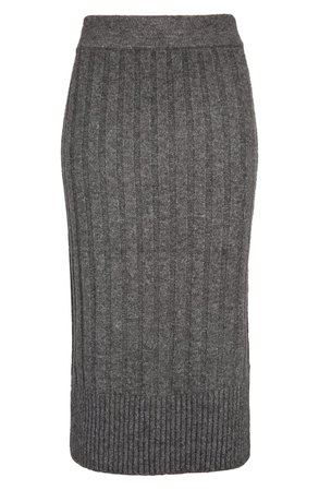 Halogen® Ribbed Sweater Skirt | Nordstrom