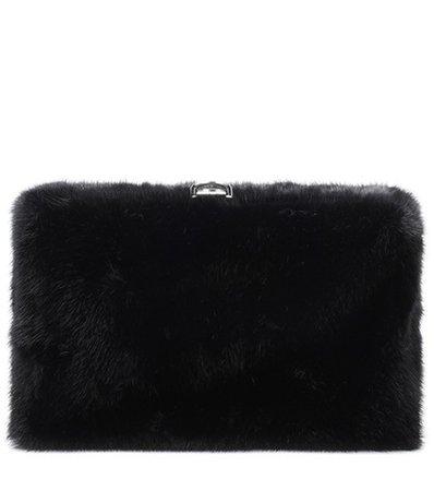 Asymmetrical Frame fur clutch