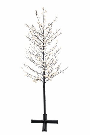 Home Accents Holiday 7.5 ft. Pre-Lit LED Sparkling Pine Artificial Christmas Tree with 600 Warm White 5 Function Lights   The Home Depot Canada