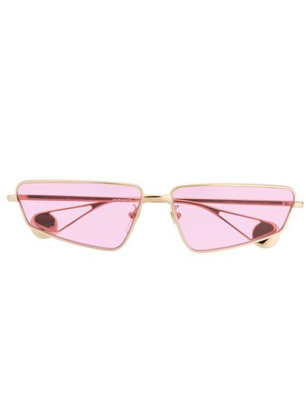 Gucci Eyewear Rectangle Frame Sunglasses