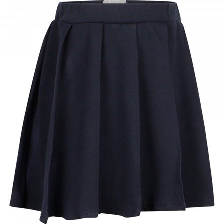 Il Gufo Casual Pleated Skirt in Navy Blue - BAMBINIFASHION.COM