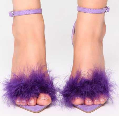 purple heel