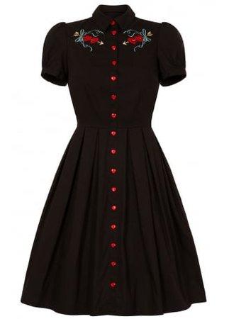 HELL BUNNY Amora Retro Dress