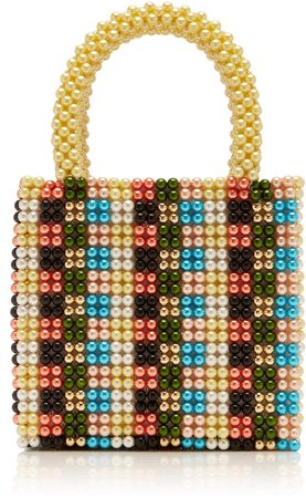 Hector Faux Pearl Tote