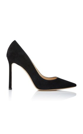 Romy Suede Pumps By Jimmy Choo | Moda Operandi