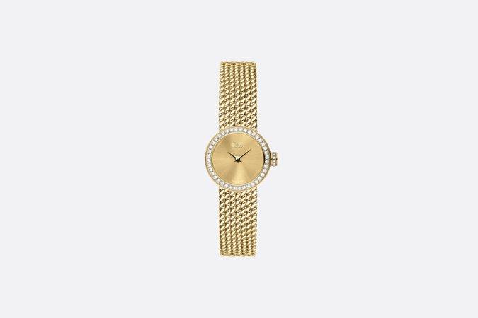 Dior, LA MINI D DE DIOR SATINE PERLÉE 19 mm Watch, Quartz Movement