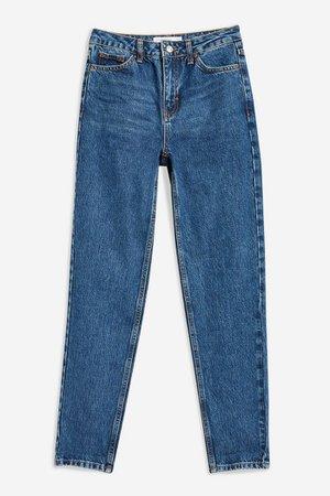 Rich Blue Mom Jeans | Topshop