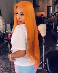 orange baddie wigs - Google Search