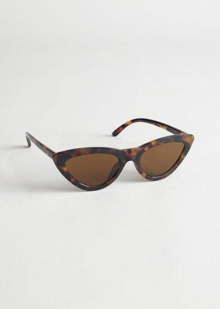 Cat Eye Sunglasses - Tortoiseshell - Sunglasses - & Other Stories