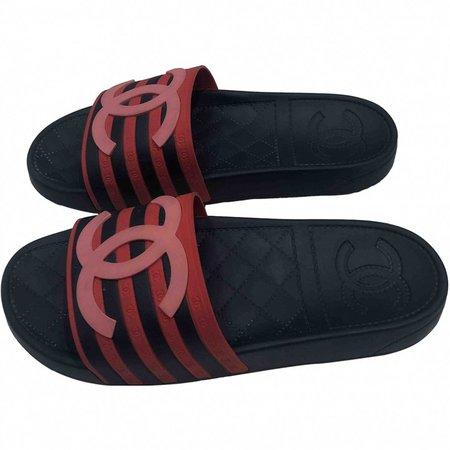 Navy Rubber Sandals