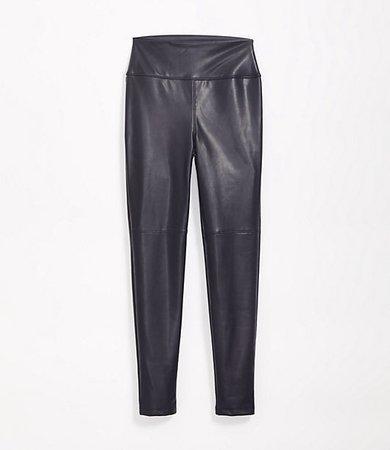 Lou & Grey High Rise Faux Leather Leggings