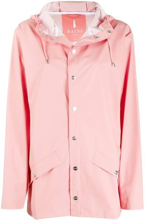 Drawstring Hooded Parka Coat