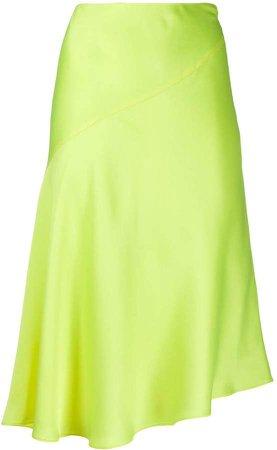 asymmetric slip skirt