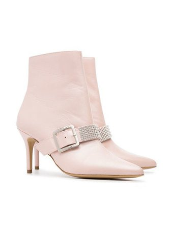 Kalda Pink Ada 80 leather boots $276 - Buy Online SS18 - Quick Shipping, Price
