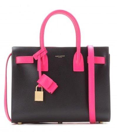 black pink saint laurent bag