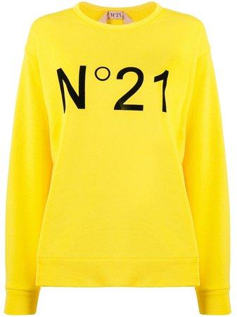 Nº21 Logo Printed Sweatshirt   Farfetch.com