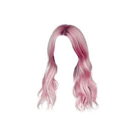 pink doll hair png