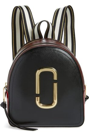 MARC JACOBS Pack Shot Leather Backpack | Nordstrom
