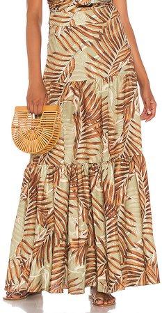 Palmeira Maxi Skirt