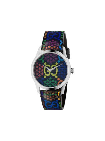 Gucci Psychedelic G-Timeless 40mm Watch - Farfetch