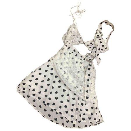 Mini dress For Love & Lemons White size S International in Synthetic - 10256248