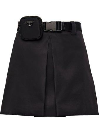 Prada A-line Mini Skirt - Farfetch