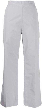 Pyrene straight-leg cotton trousers