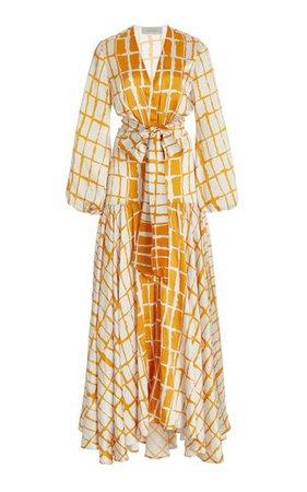 Connie Striped Silk Maxi Dress By Silvia Tcherassi | Moda Operandi