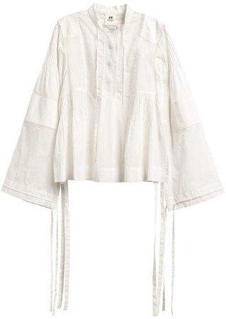 Cotton Blouse - White