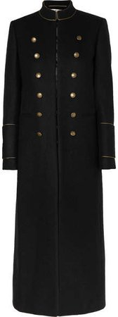 Wool-felt Coat - Black