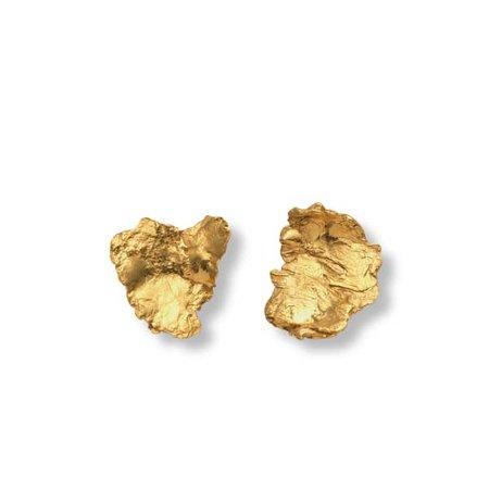 Artemis Earrings - Gold | EVA REMENYI | Wolf & Badger