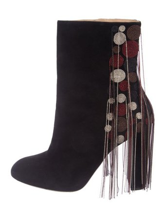 Chloé Suede Ankle Boots - Shoes - CHL99196 | The RealReal