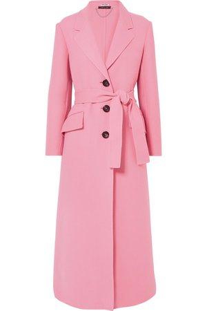 Miu Miu | Belted wool coat | NET-A-PORTER.COM