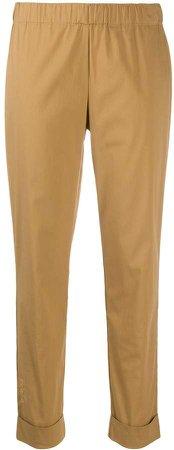 Semicouture Mariel slim-fit trousers