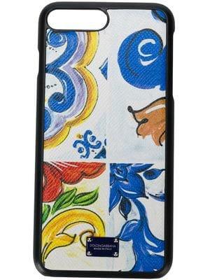 Dolce & Gabbana Lily Print iPhone XS Max Case - Farfetch
