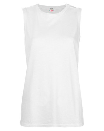 The Muscle Tee in Optic White   RE/DONE