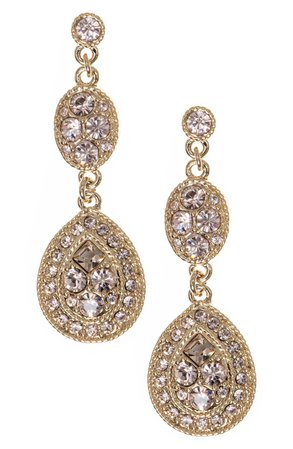 Givenchy Crystal Drop Earrings | Nordstrom