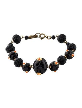 Isabel Marant Wood Bead Bracelet - Bracelets - ISA64847 | The RealReal