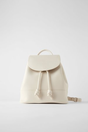 KNOTTED FLAP BACKPACK | ZARA Canada