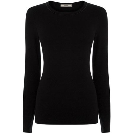 Black Long Sleeved Shirt