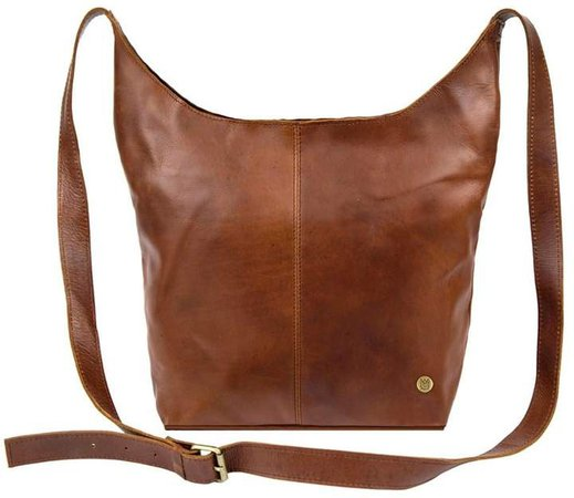 MAHI Leather - Leather Dixie Boho Tote Bag Shoulder/Across Body Handbag In Vintage Brown