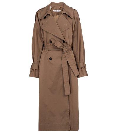 Acne Studios - Stretch-cotton trench coat   Mytheresa