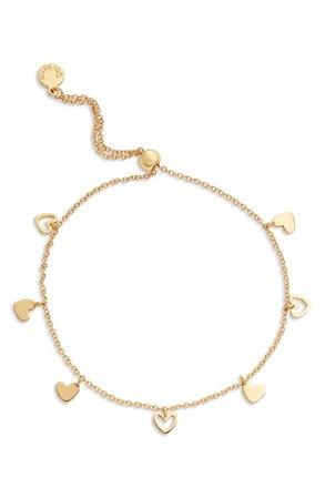 gorjana Heart Charm Bracelet | Nordstrom